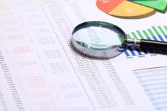 Financial Control Royalty Free Stock Photos