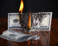 Financial crash Stock Photos