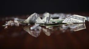 Financial crash Royalty Free Stock Photo