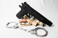 Financial Crime Concept Stock Images