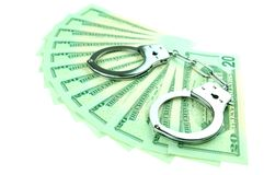 Financial crime concept Royalty Free Stock Image