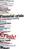 Financial crisis Royalty Free Stock Image