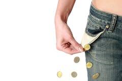 Financial crisis. Stock Photography