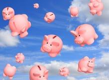 Financial crisis. The conceptual image - financial crisis Royalty Free Stock Photos