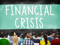 Financial Crisis Bankruptcy Depression Finance Concept Stock Image