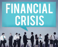 Financial Crisis Bankruptcy Depression Finance Concept Stock Photography