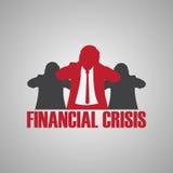 Financial crisis Royalty Free Stock Photography
