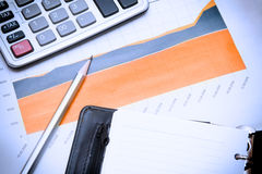 Financial crisis comes Stock Images