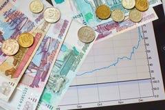 Financial crisis concept Stock Image