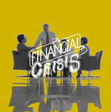 Financial Crisis Risk Economics Recession Concept Stock Photography
