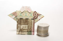 The financial crisis in Russia. The fall of the ruble in Russia Stock Images