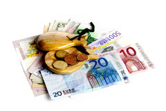 Financial crisis in Spain Royalty Free Stock Photo