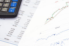 Financial data Stock Photo