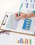 Financial data Stock Images