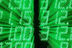 Financial data abstract Royalty Free Stock Photo