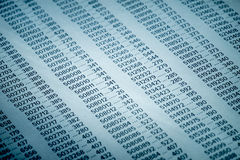 Financial Data Concept with Numbers. Spreadsheet Bank Accounts Accounting, Financial Fraud Investigation, Audit and Analysis, Balance Sheet, Numbers Background Stock Image