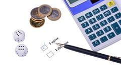 Financial Decision Making Stock Photos