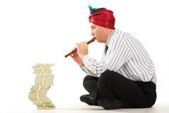 Financial decrease Royalty Free Stock Images