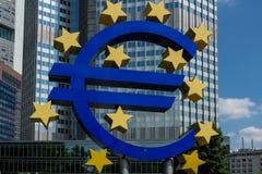 Financial destrict of Frankfurt Royalty Free Stock Photo