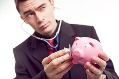 Financial diagnosis Stock Photo