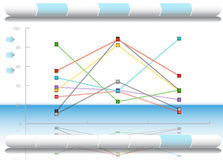 Financial Diagram. An image of a Financial Diagram Stock Images