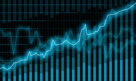 Financial diagram Royalty Free Stock Image