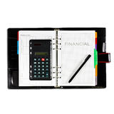 Financial diary. With clipping path and pen Royalty Free Stock Photo