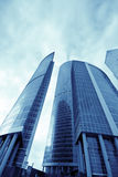 Financial district Stock Photography