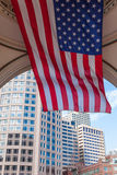The financial district of Boston. Massachusetts - USA Royalty Free Stock Images