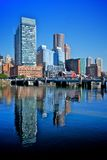 Financial district of boston Stock Photography