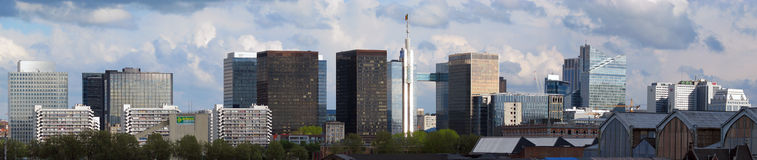 Financial district in Brussels (Belgium) Royalty Free Stock Photo