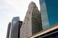 Financial District buildings, NYC Stock Photo