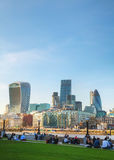Financial district of the City of London Stock Photos