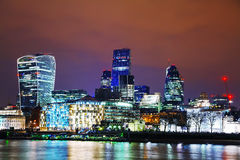Financial district of the City of London Royalty Free Stock Photo