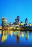 Financial district of the City of London Stock Image