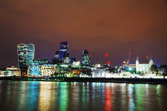 Financial district of the City of London Royalty Free Stock Photography
