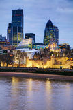 Financial district of the City of London Stock Photography