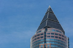 Financial district of Frankfurt Royalty Free Stock Images