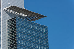 Financial district of Frankfurt Stock Image