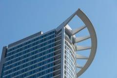 Financial district of Frankfurt Royalty Free Stock Photo