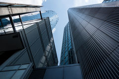 Financial district of Frankfurt Stock Photos