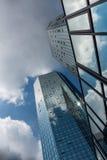 Financial district of Frankfurt Stock Photo