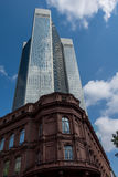 Financial district of Frankfurt Stock Photography