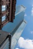 Financial district of Frankfurt Royalty Free Stock Photos