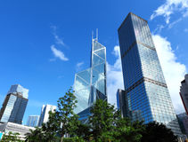 Financial district Royalty Free Stock Images