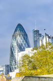 Financial District in London Stock Photos
