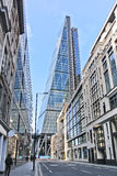 Financial district in London Stock Photo