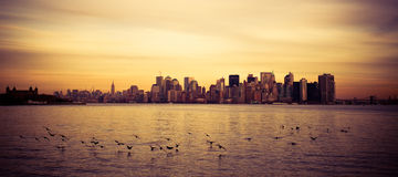 Financial District, New York Royalty Free Stock Photography