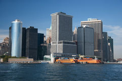 Financial district, new york city Royalty Free Stock Image