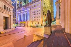 Financial District New York City stock photography